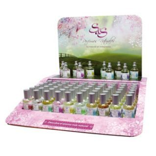 Expositor Perfumes Naturales 10 Ref./ 40 Uds.